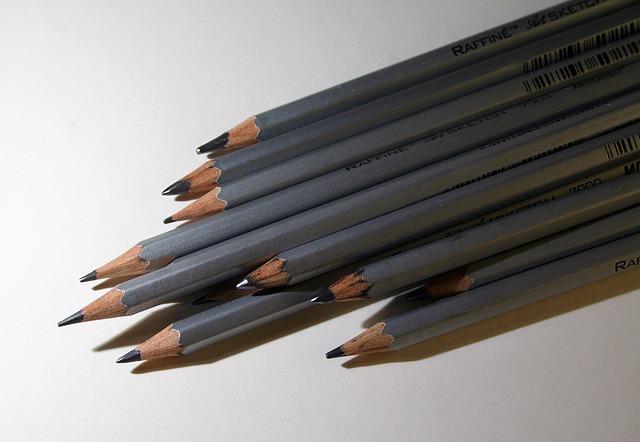 tekenen met graffietpotloden
